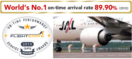 Japan Airlines France Flight Stats Recompense Ponctualite